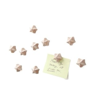 houten sterren magneten aurigo