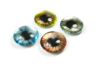 iris magneten van glas