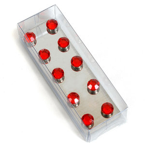 magnetische diamantjes rood