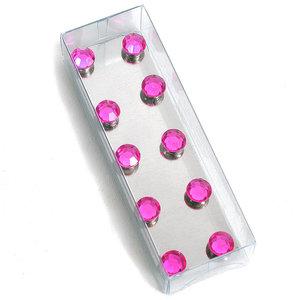 Roze magneetjes diamant